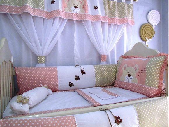 Kit Berço para decorar quarto de bebê62