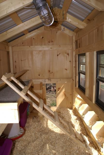 Wow great interior chicken coops pinterest for Chicken coop interior designs