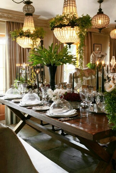 Great Tablescape Classically Elegant Home Decor Pinterest