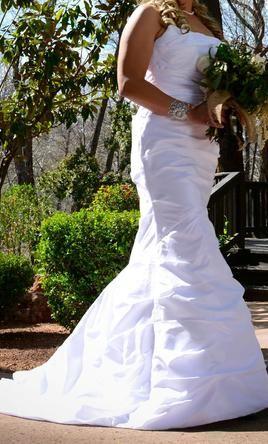 David s bridal p9345 find it on preownedweddingdresses com