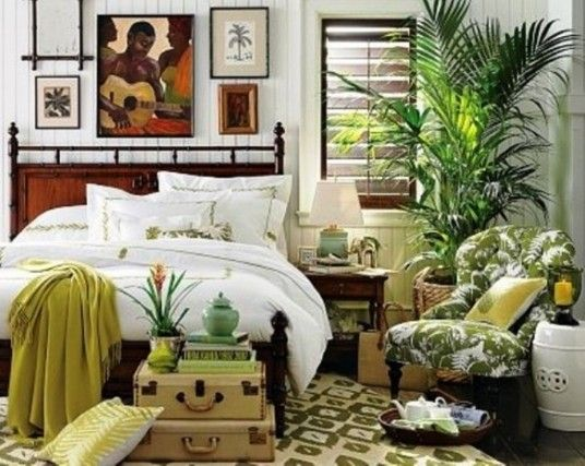 Bright tropical bedroom ideas bedroom and bedding ideas for Exotic bedroom designs