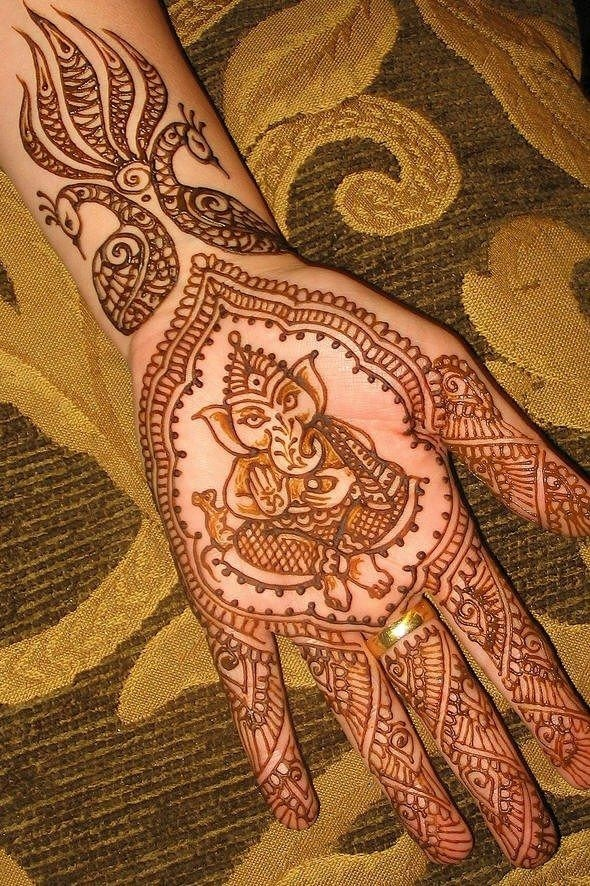 Mehandi Designs for Indians