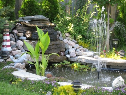 Diy Pond Ponds Pinterest
