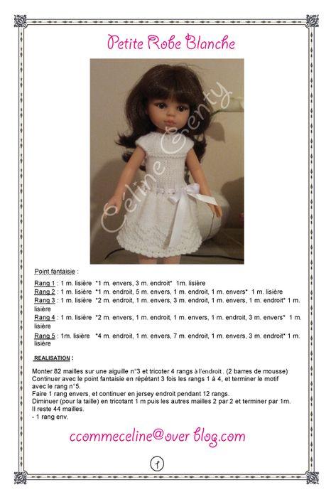 Схемы вязания на куклу паола рейна 162