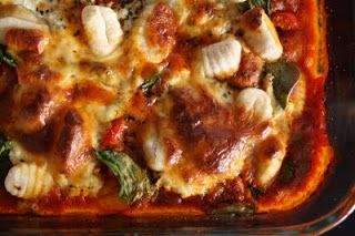 Spinach and Red Pepper Gnocchi Lasagna | Recipes | Pinterest