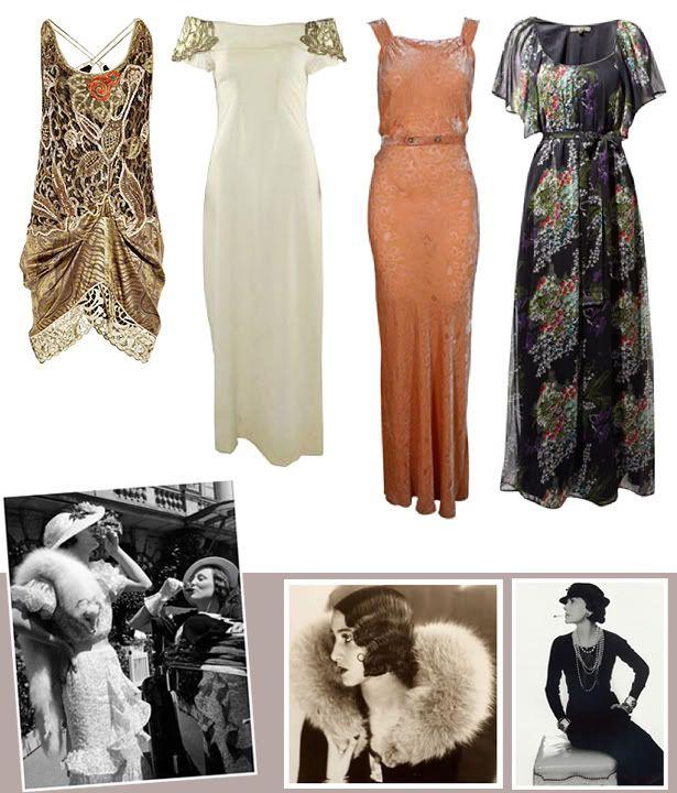 rolling 20s dresses for women