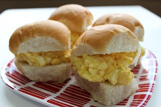 ... like this: egg salad sandwiches , deviled egg salad and egg salad