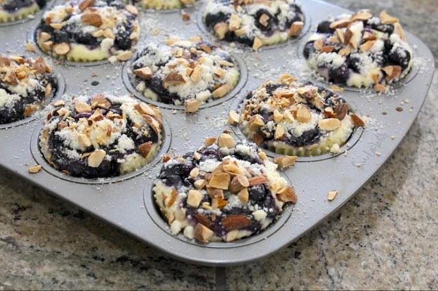 SPCookieQueen: Blueberry, Lemon, Cream Cheese Muffins - Bringing the ...