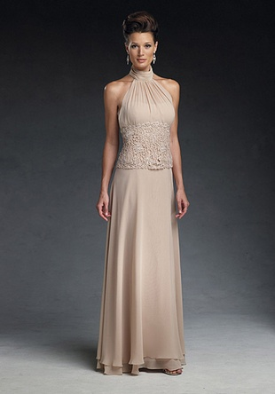 Mother Of The Bride Dresses High Neck 3