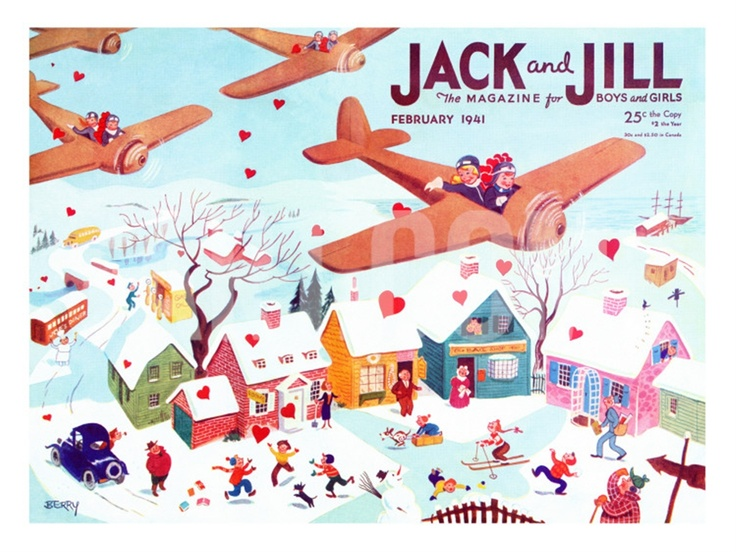 Jack and Jill Magazine - February 1941 ( I loved this magazine as a kid!)