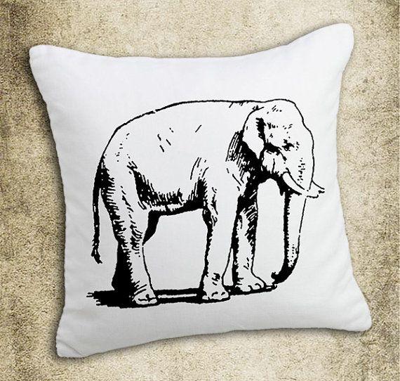 INSTANT DOWNLOAD Vintage Elephant Illustration Download by room29   1    Vintage Elephant Illustration