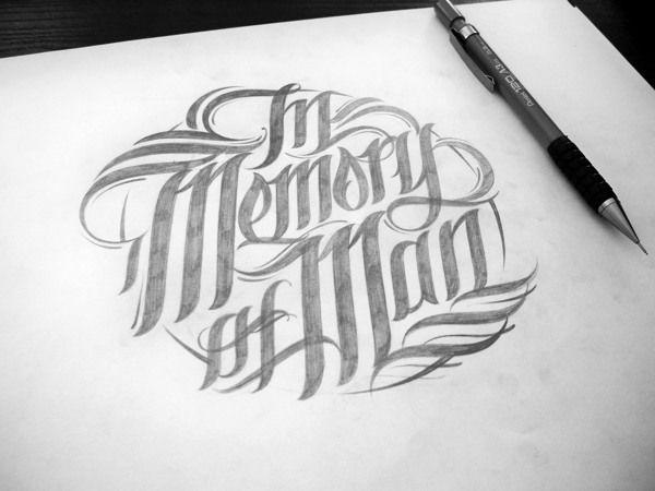 Handlettered Logotype by Mateusz Witczak