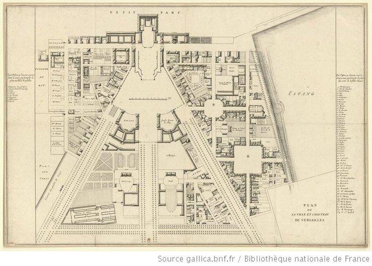 Plan de la ville et chasteau de Versailles : [estampe] - 1