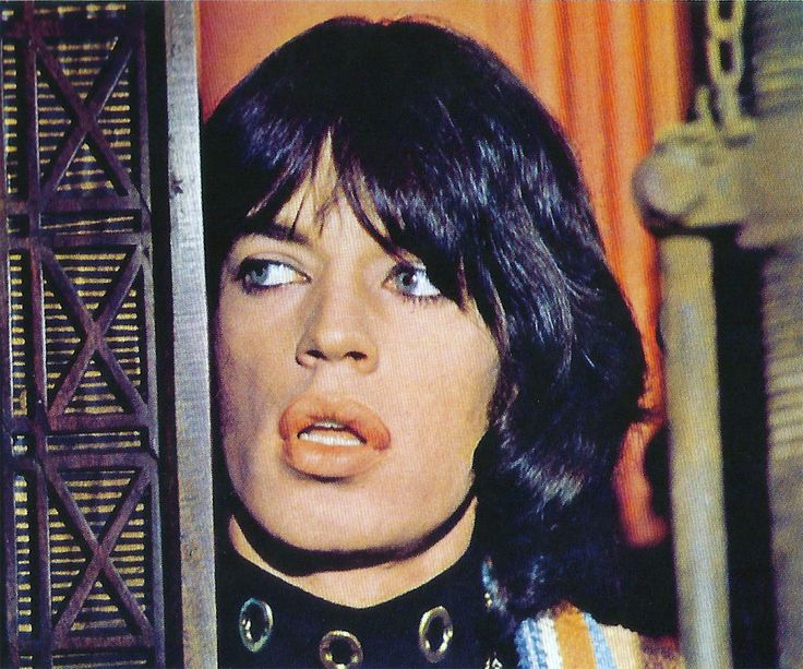 mick jagger in Performance, 1970