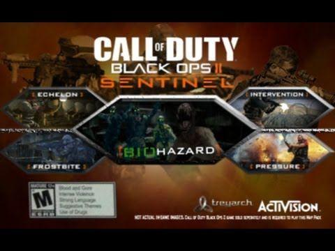 Black Ops 2 Community Dlc Map Pack Idea Sentinel