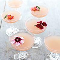 Lillet Rose Spring Cocktail from Martha Stewart