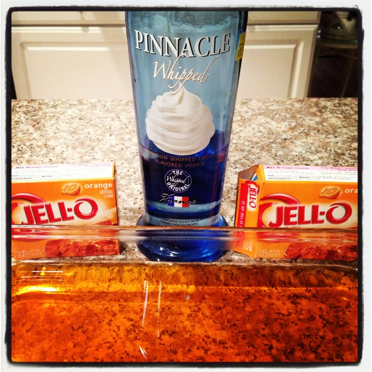 Creamsicle Jell-O shots   Sippin'   Pinterest