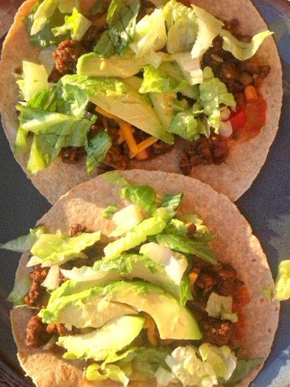 Spicy tempeh tacos | Eat It Vegetarian It Up | Pinterest