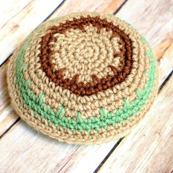 Free Crochet Yarmulke Pattern #crochet #pattern #yarmulke