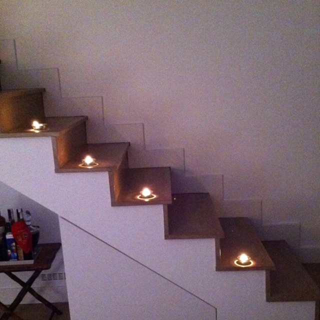 Canddle & stairs