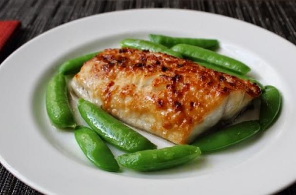 Miso Glazed Cod / This is a quick and easy fish recipe. It is cooked ...
