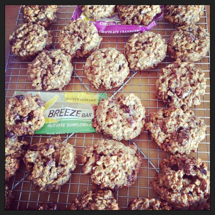 Aunt Nancy's Breeze Bar Oatmeal Almond Cookies