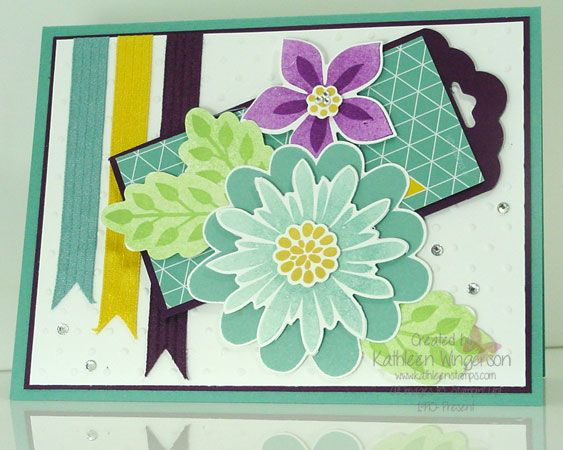 Flower Patch by tyque - Cards and Paper Crafts at Splitcoaststampers