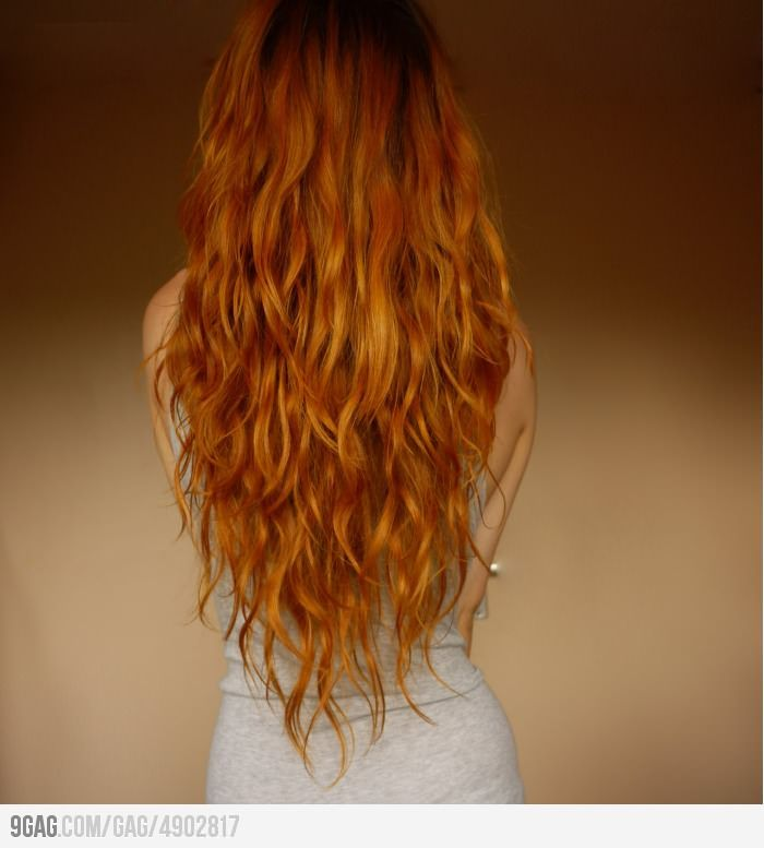 I wish I had the patience to grow my hair this long