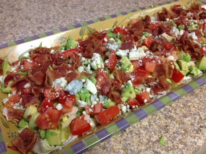 Cobb Salad Dip (Perfect for Sunday's big game!) - Blogs - Big Country ...