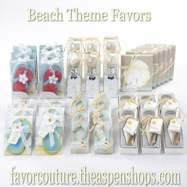 Pin By Favor Couture The Aspen Shops On Beach Wedding Favors