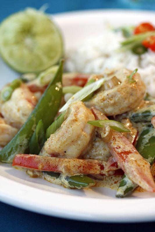 Spicy Coconut Shrimp Recipe — Dishmaps