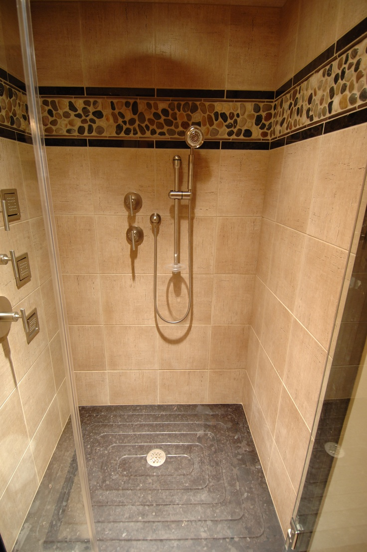 Barenzbuilders Walk In Tile Shower Bathroom Showers Pinterest