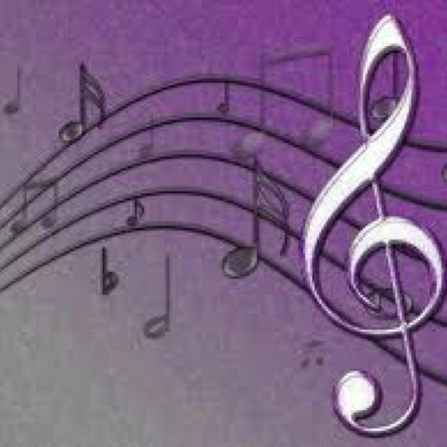 Music notes nail art designs