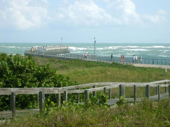 Pin by vicki lund sheehan on places i have lived pinterest for Vero beach fishing pier