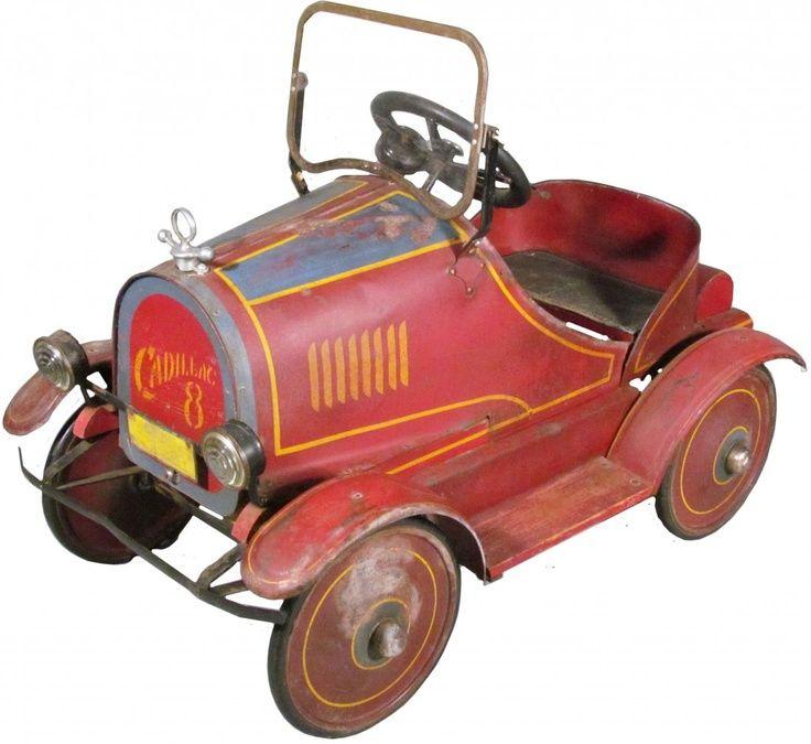Cadillac Pedal Car  Toys  Pinterest
