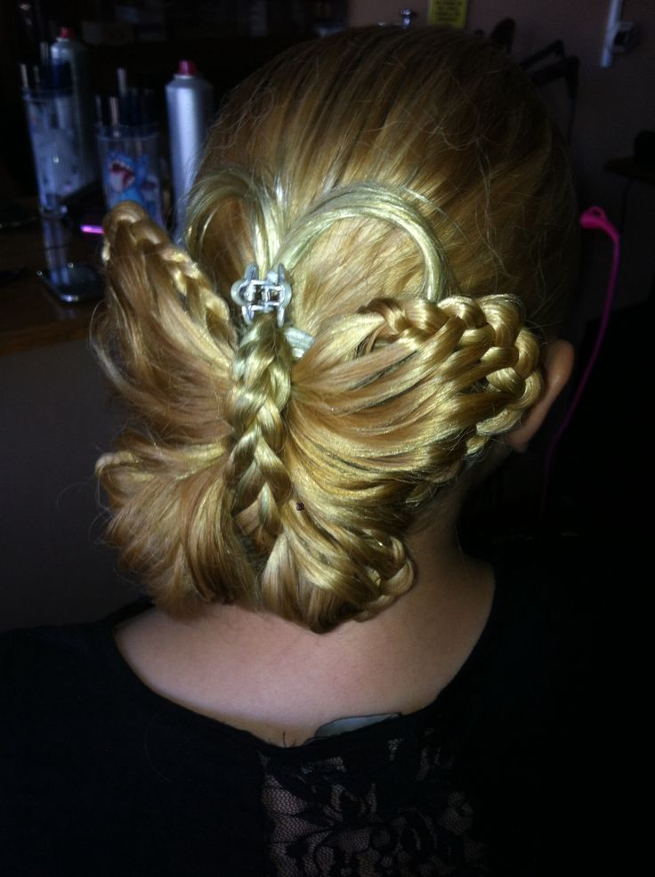 how to make butterfly hairstyle