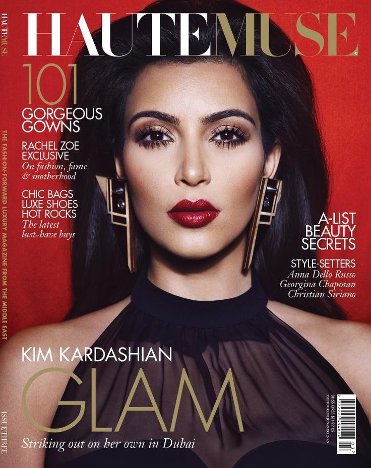 Kim kardashian for haute muse fashion love pinterest