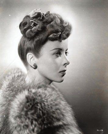 Ida Lupino #hair #vintage #1940s