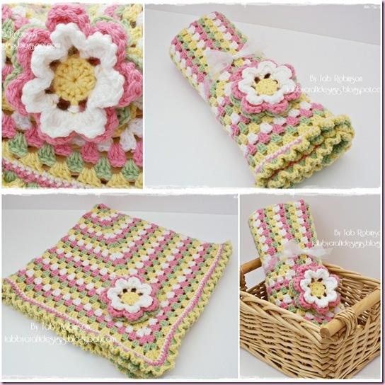 Starburst Flower Crochet Blanket Pattern : Starburst Crochet Baby Granny Blanket Crochet ...