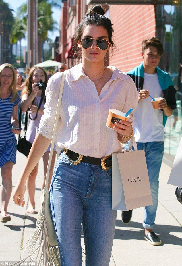 Kendall Jenner Wore the Statement Belt to End All StatementBelts Kendall Jenner Wore the Statement Belt to End All StatementBelts new pictures