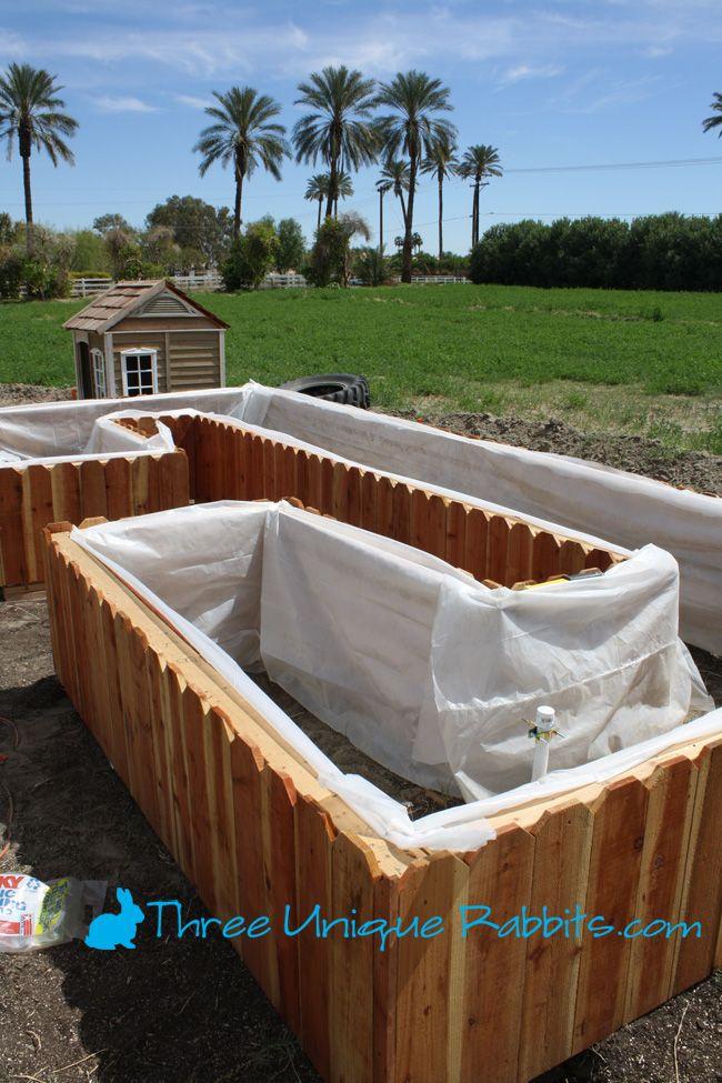 thigh high above ground planter box gardening pinterest