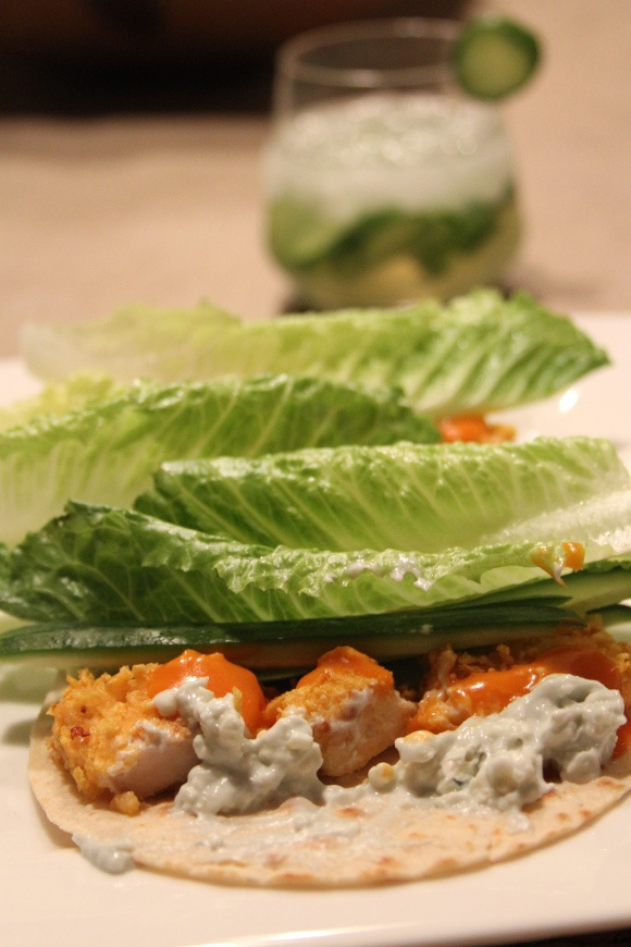 Weekly Menu #13 - Buffalo Chicken Wraps, Broccoli Rabe, Meyer Lemon ...