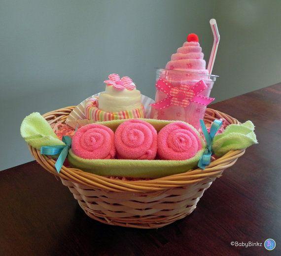 babybinkz gift basket unique baby shower gift or centerpiece cute g