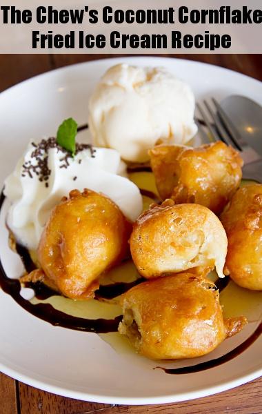 Coconut Cornflake Fried Ice Cream Recipe — Dishmaps