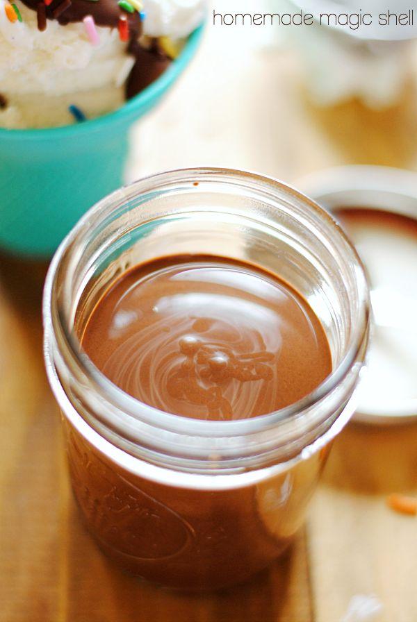 Homemade Magic Shell | Recipe