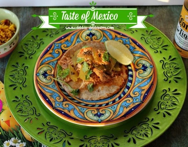 Slow cooker Green Chile Pork/chicken tacos {plus a coupon and a ...
