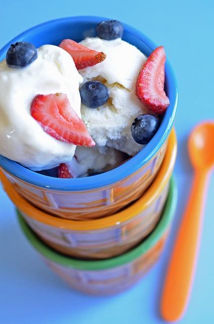 Vanilla Frozen Yogurt Recipe — Dishmaps