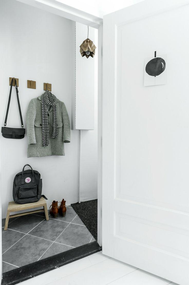 blanco, madera, minimalista, nórdico, dekoloop, recibidor