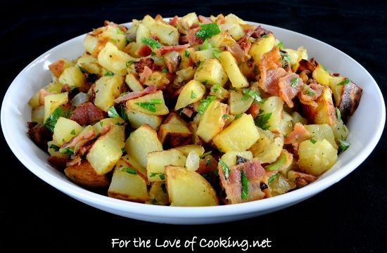 german roasted potato salad | Side Dishes | Pinterest