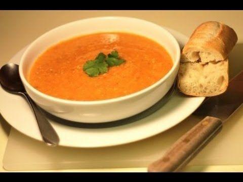 LENTIL SOUP Recipe w/ ginger - YouTube | Food (Soups- vegetables ...